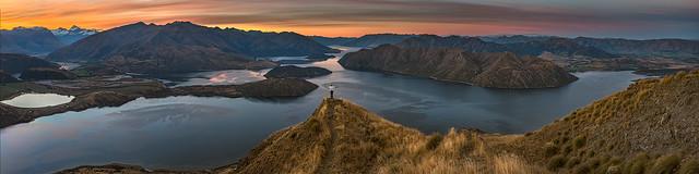 View from Coromandel Peak NZ
