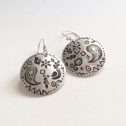 Paisley earrings | by jujubysarah