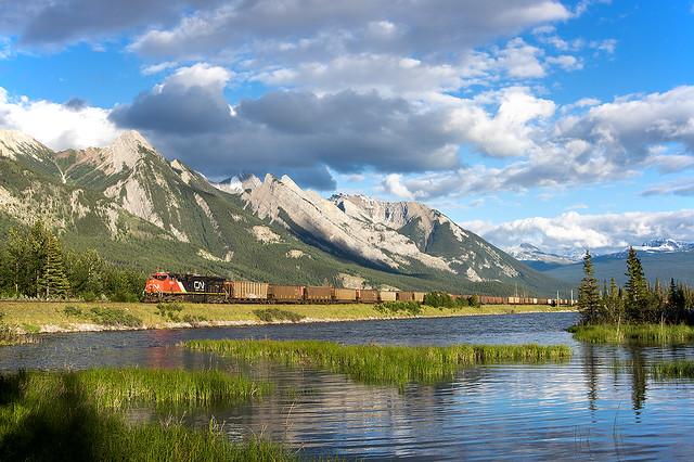 17.05.2016, Canadian National (CN), Henry House, Jasper National Park