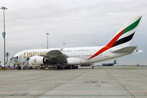 Emirates - A380-861 - A6-EOP - Dubai Air Show 2015 | by raihans photography