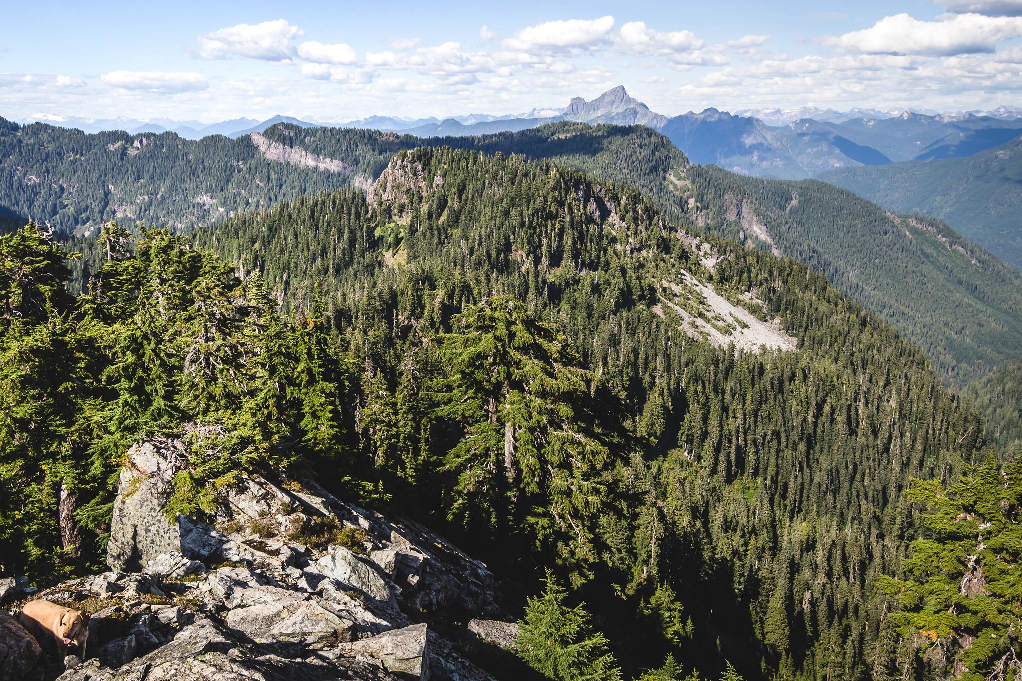 Next stop, Anthracite Peak