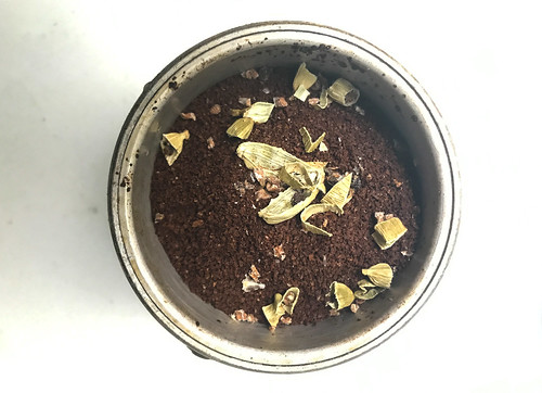 Prototyping: cardamom coffee