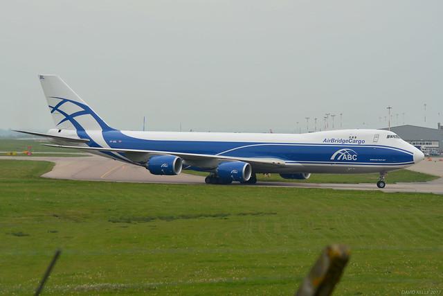 VP-BBL Air Bridge Cargo Boeing 747-800 EGNX 2/5/17