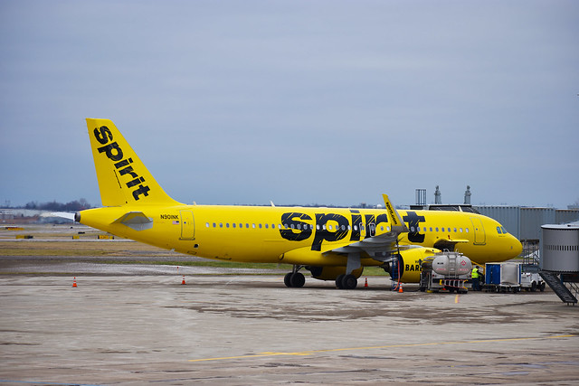 Spirit Airlines –  Airbus A320-271N(WL) @ Niagara Falls