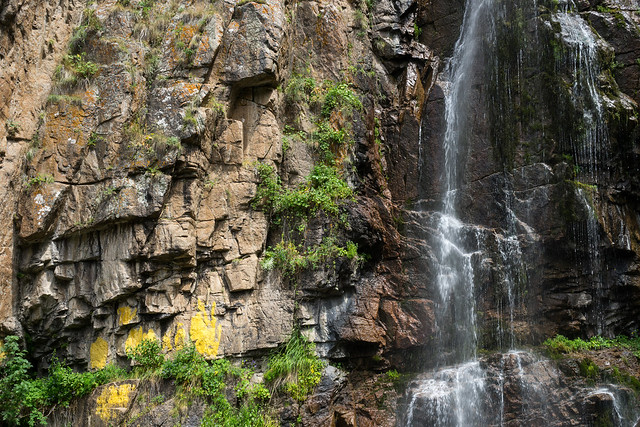 Almaty: Butakovka waterfall