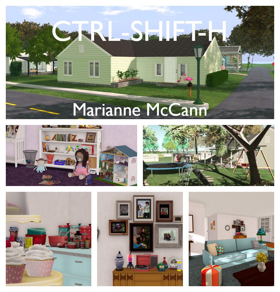 CTRL-SHIFT-H Blog- Marianne McCann's Dollhouse | New post at… | Flickr