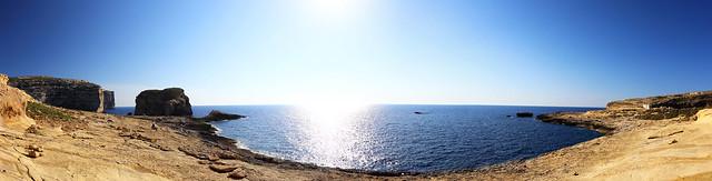 Gozo Coast, Gozo, Malta.