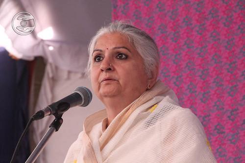Holy Sister Mohini Ahuja Ji from Hyderabad, Telangana, expresses her views