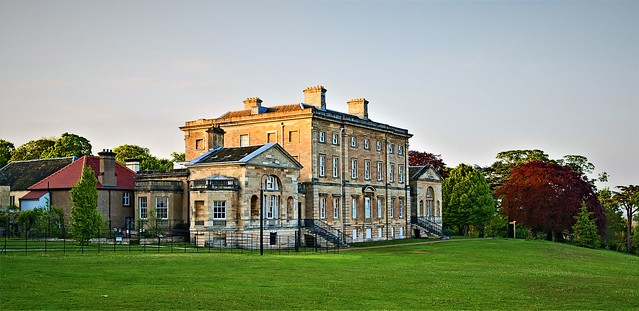 Cusworth Hall - approaching dusk in spring