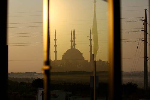 nizamiyemasjid midrand johannesburg southafrica mist autumn wires dawn sunrise alba window reflection mosque