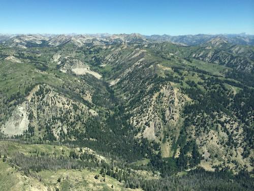 idaho aerial backcountry