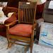 Hardback rocking chair E80