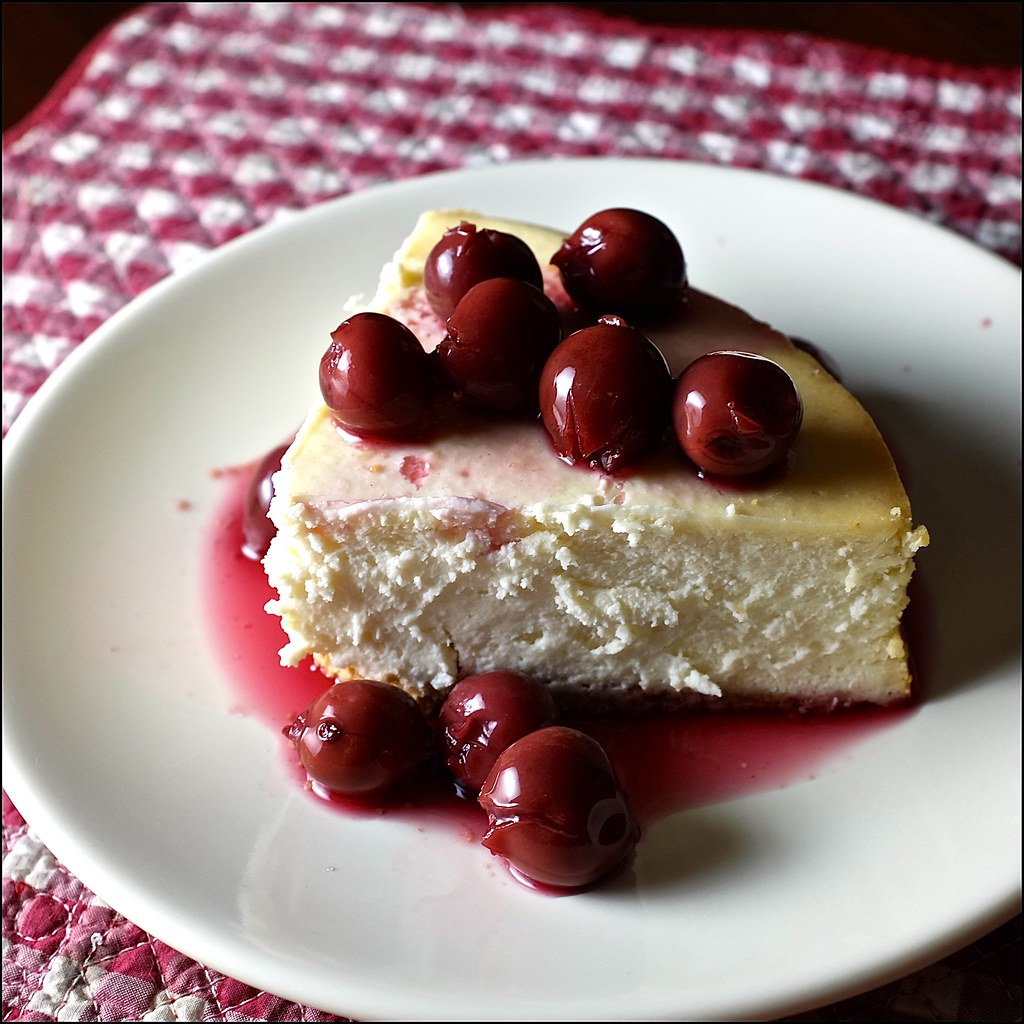 Cherry Cheesecake Day | April 23 is National Cherry Cheeseca… | Flickr