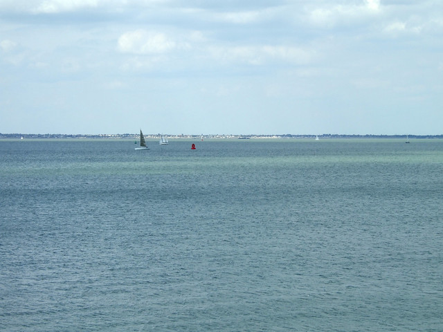 The Thames Estuary from Sheerness-on-Sea