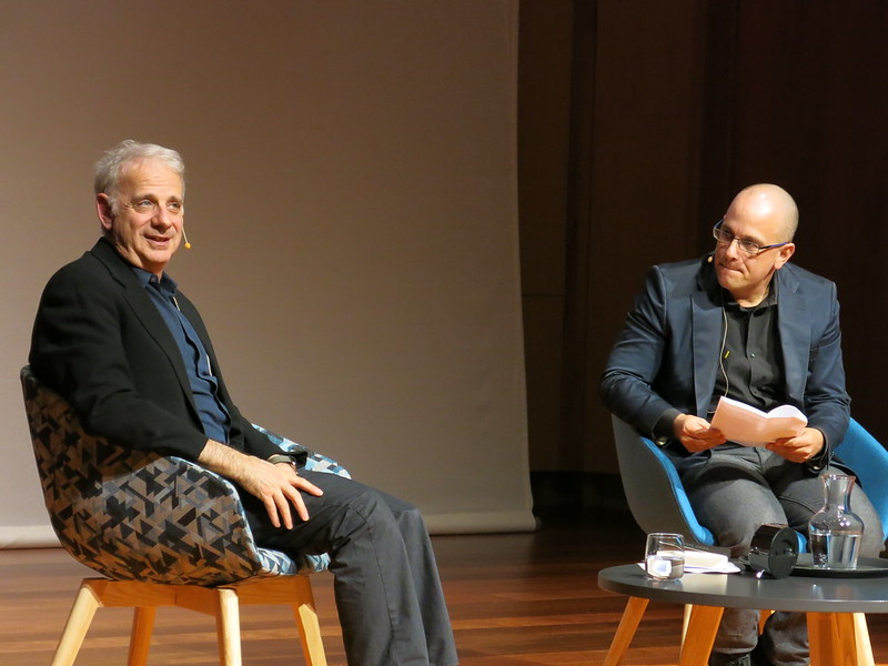 James Gleick and Professor Daniel Bernardi