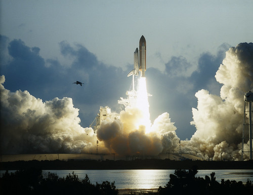 #TBT: First Flight of Space Shuttle Endeavour Launches -- May 7, 1992   by NASA's Marshall Space Flight Center