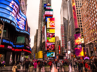 Times Square   by samuel.ioannidis