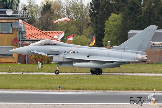 7L-WG Austrian Air Force Eurofighter Typhoon