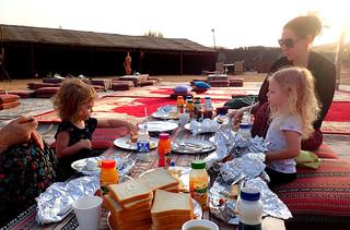 2017 - UAE - Excursion - Morning - Breakfast Julie and Girls   by SeeJulesTravel