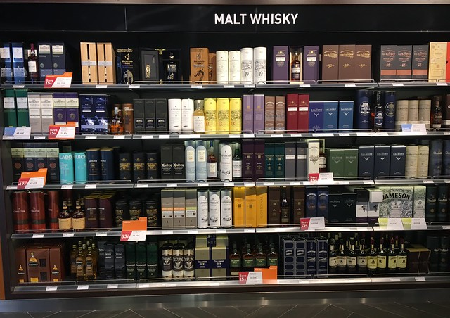 Athens airport and duty free