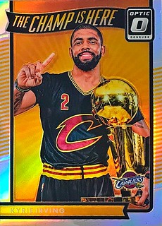 2016-17 Donruss Optic The Champ is Here Holo #3 Kyrie Irving | by SMosley21x