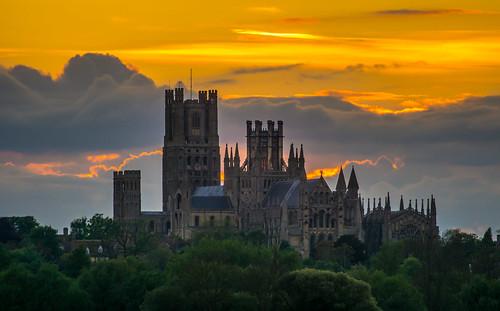 ancient england dawn old cambridgeshire thefens uk ely europe eastanglia european daybreak sunrise