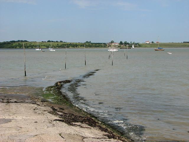Former ferry crossing