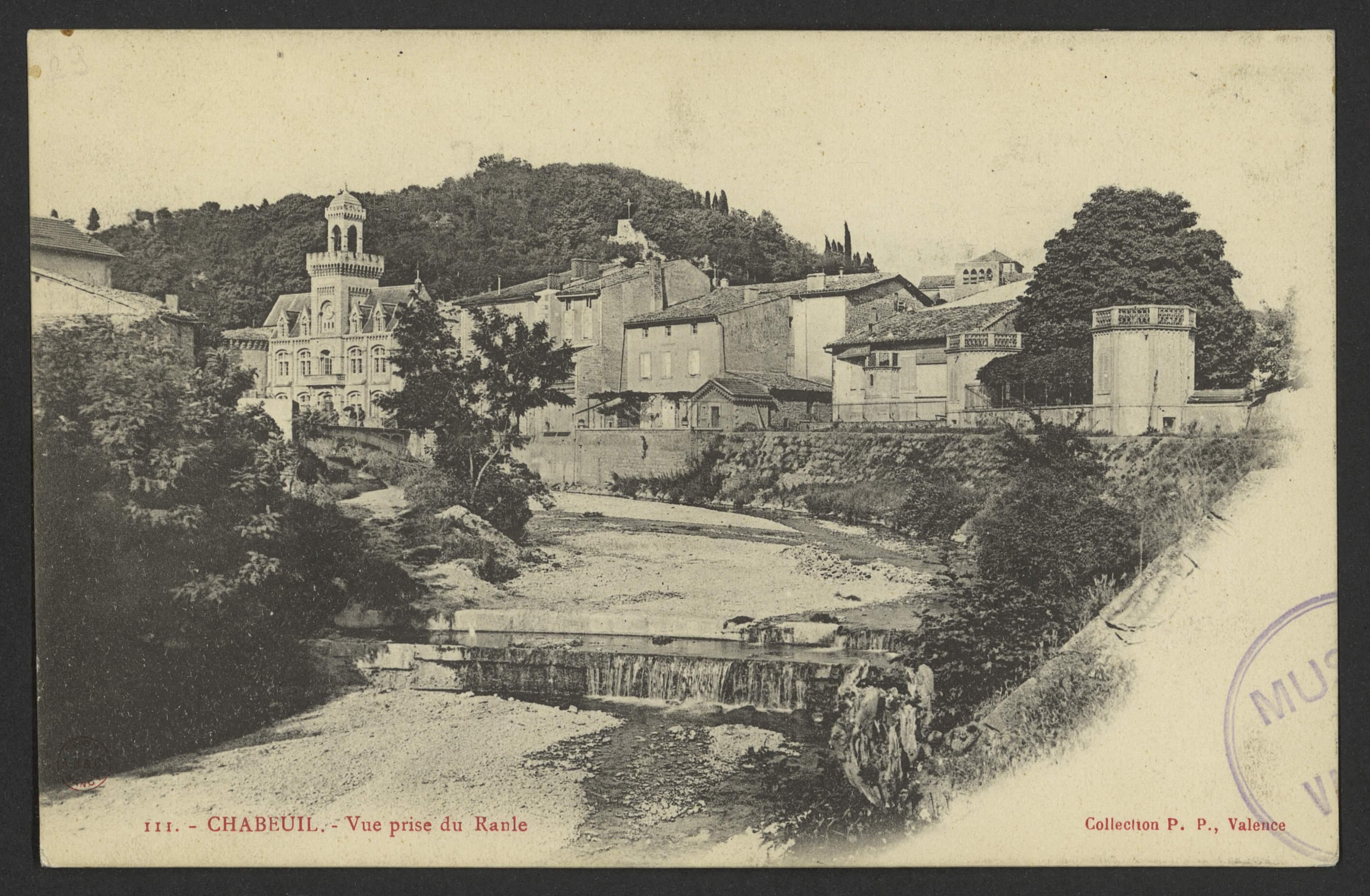 Chabeuil, - Vue prise du Ranle