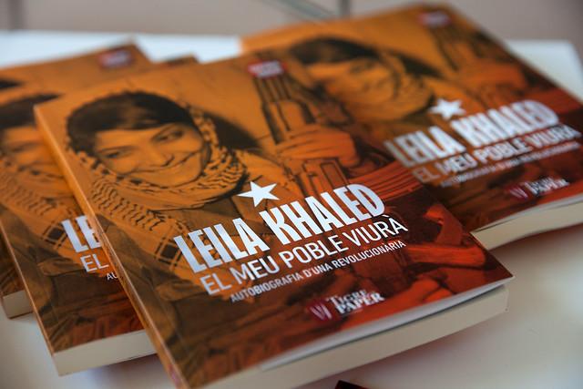 Leila Khaled alla fiera Literal 2017