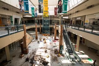 Mall in Demolition   by kenfagerdotcom