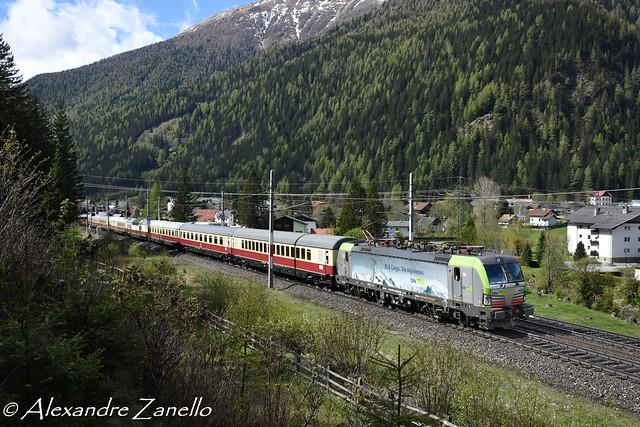 BLS: Re 475 404, Mallnitz-Obervellach (A)