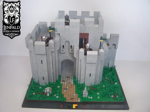 Port Emerald Gatehouse   by ~Mythical