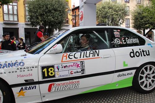 VI. Lea-Artibai Rallya, lehen metroak egiten