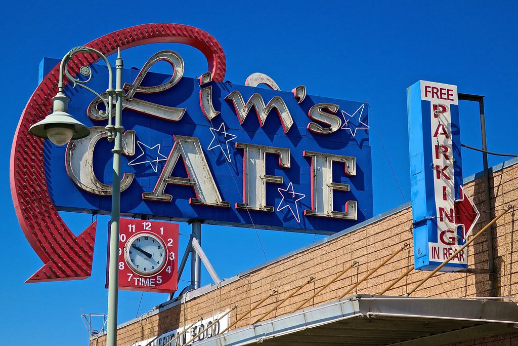 Lim's Cafe, Redding, CA
