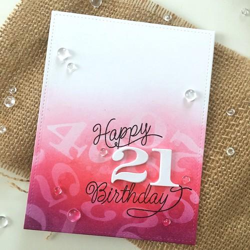 21st birthday card | by Kimberly Toney