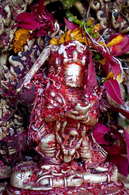 NPL - Raga Bhairav Statue - Bhaktapur
