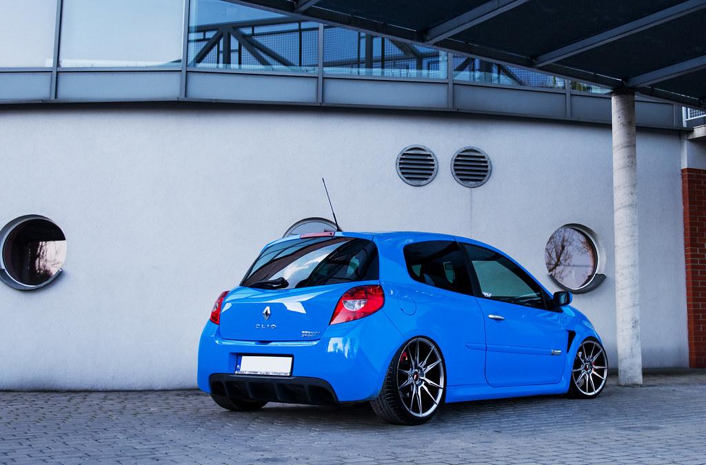 Renault Clio Sport Jr21 Hyper Black Japan Racing Wheels