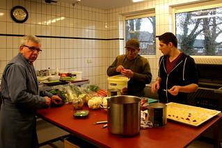 151211-001a diner, voorbereidingen
