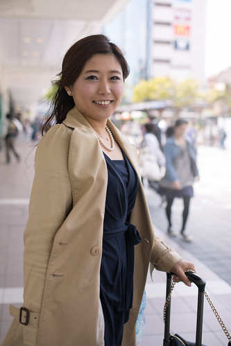 Portrait of young business woman in city | by Apricot Cafe