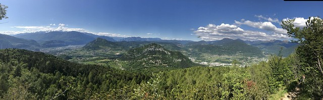 Pano on the way up to Chegul
