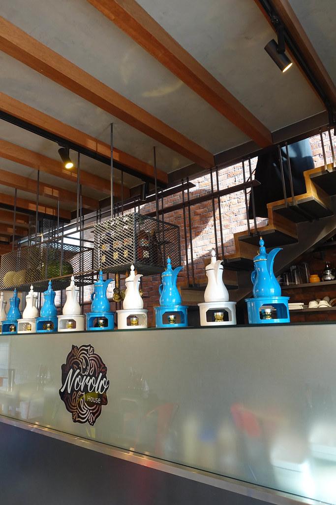 Norolo Cafe | Interior design and lighting design for a cafe