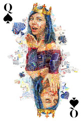My Queen of Spades (for the World Poker Tour)