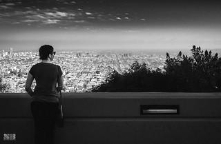 LA Skyline from Griffith | by Nitesh-Bhatia