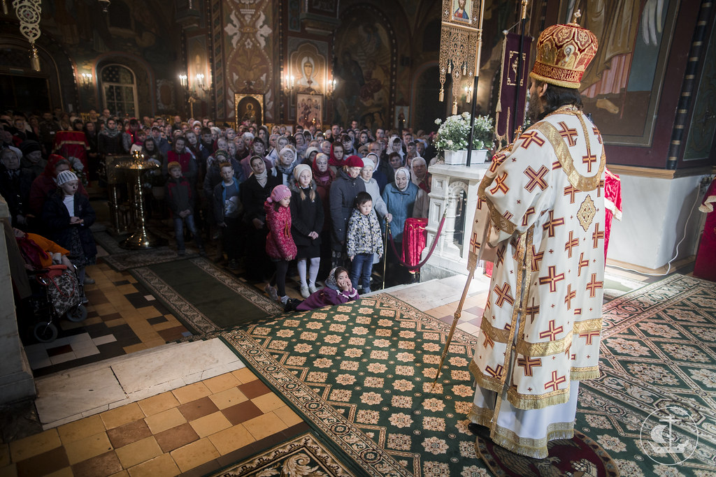 14 мая 2017, Литургия в Петергофе / 14 May 2017, Divine Liturgy in Peterhof