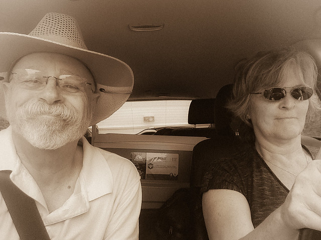 Ma and Pa Kettle on the road