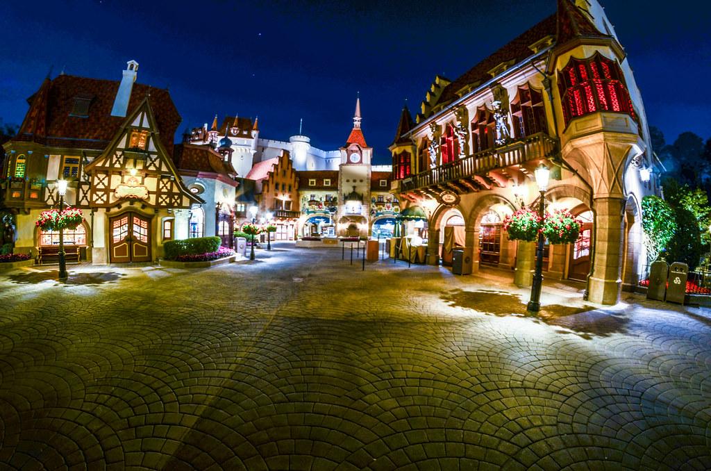 Germany Epcot night