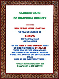 Classic Cars Of Brazoria County | by Camaro Kid Car Show Listings