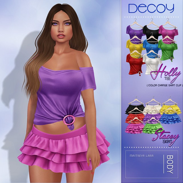 Decoy Holly Tee & Stacey Skirt