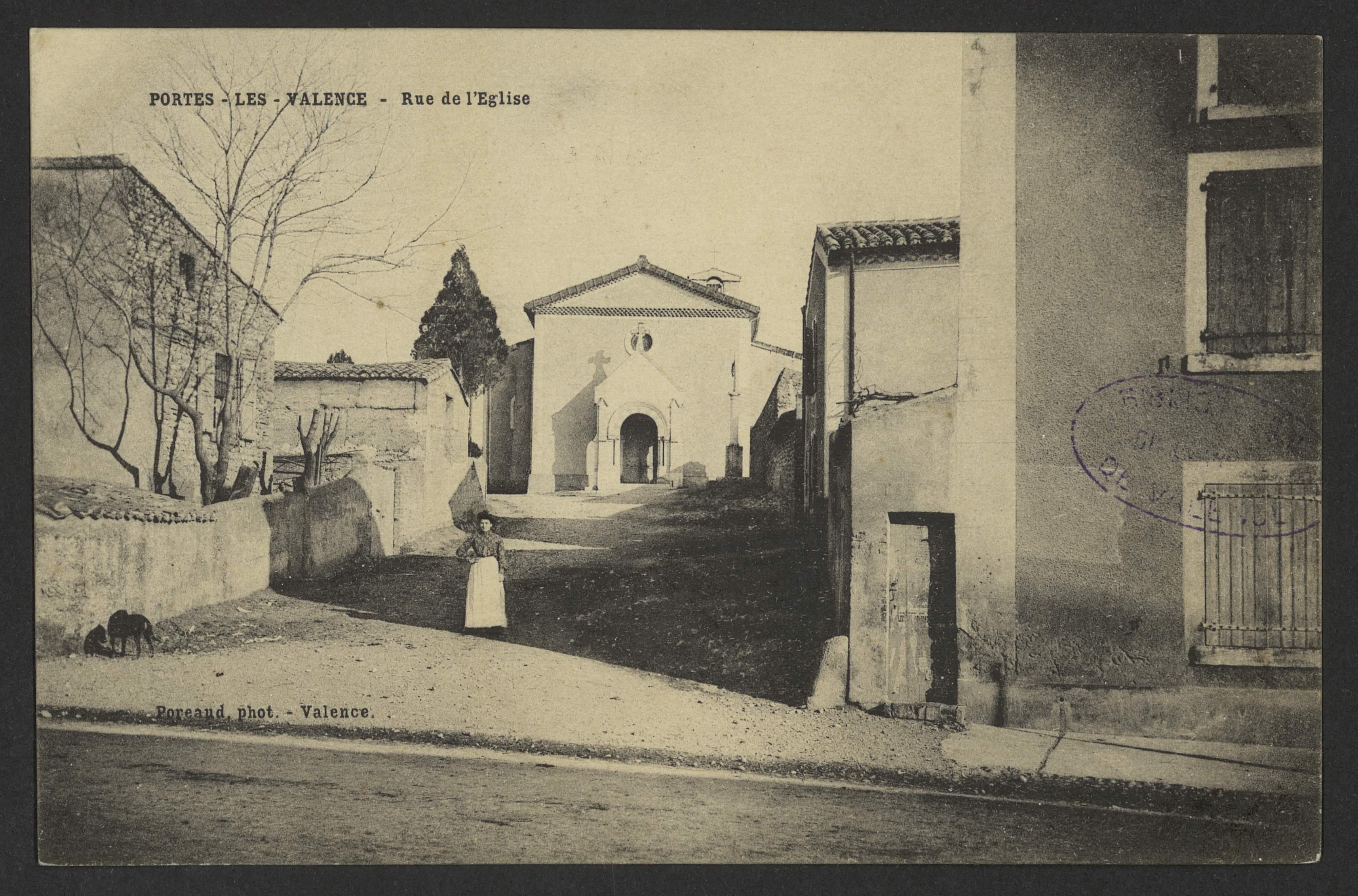 Portes-Les-Valence - Rue de l'église