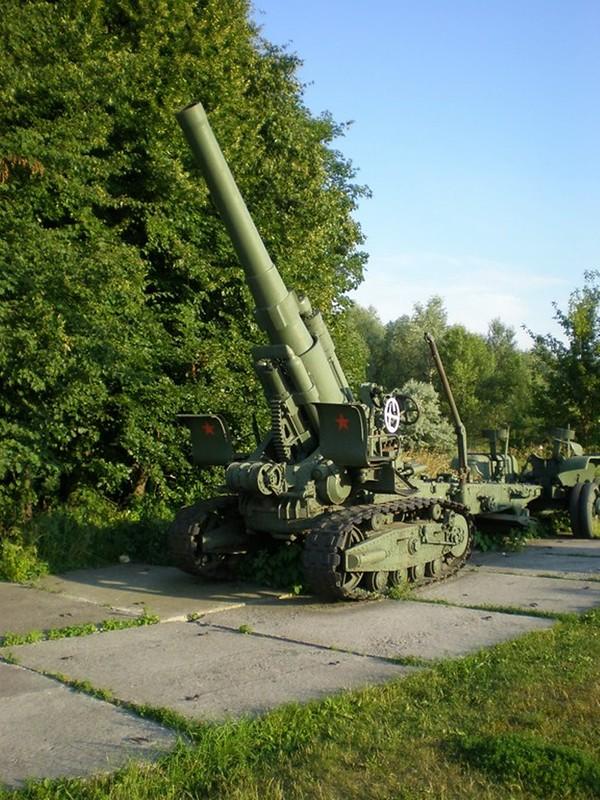 203 мм гаубица М1931 1